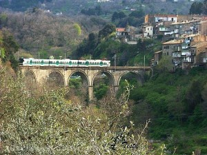 La ferrovia Roma nord