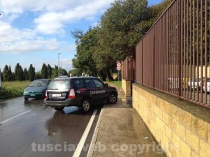 Ronciglione - La caserma dei carabinieri