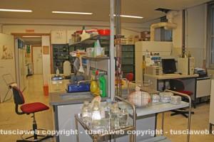 Un laboratorio del Dafne
