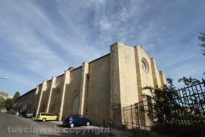 Tarquinia - La chiesa Santa Maria Valverde