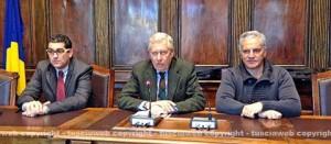 Giacomo Barelli, Leonardo Michelini e Massimo Mecarini