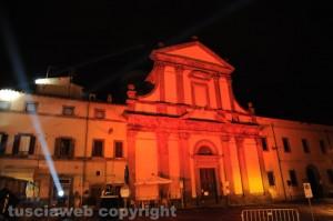 L'inaugurazione del festival delle luci