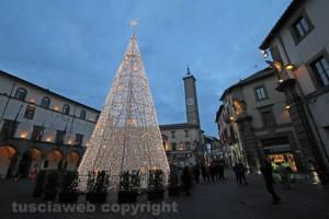 L'albero di Natale a piazza del comune