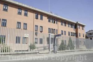 La caserma dei carabinieri di Montefiascone