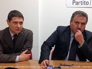 Alessandro Mazzoli ed Enrico Panunzi