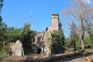 Viterbo - Riscoperta la misteriosa villa di Madonna Cornelia e la fortezza