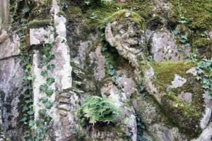 Viterbo - Riscoperta la misteriosa villa di Madonna Cornelia - Il fauno
