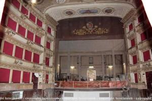 Teatro Unione, i lavori
