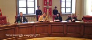La seduta del consiglio provinciale