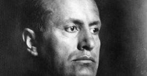 Benito Mussolini, il duce