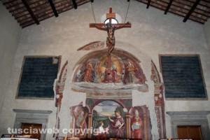 La chiesa di san Silvestro in piazza del Gesù