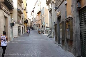 Via del Corso a Viterbo