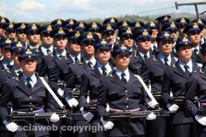 Aeronautica, il giuramento del 16esimo allievi marescialli