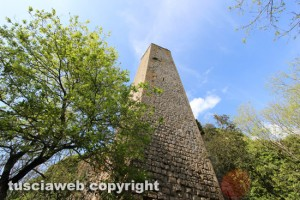 Chia - La torre di Pasolini