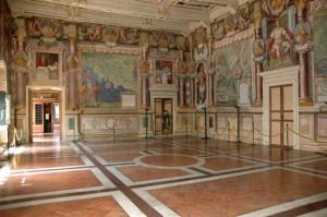 La sala regia di Palazzo dei Priori