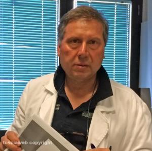 Roberto Catasca, dirigente medico del pronto soccorso di Belcolle