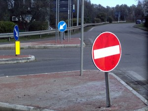 La strada provinciale Verentana