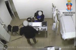 Operazione Anubi - arrestati tre necrofori della camera mortuaria di Belcolle - Il passaggio di denaro