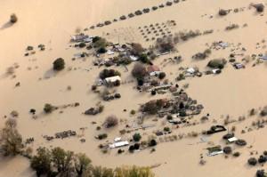L'alluvione a Orte nel 2012