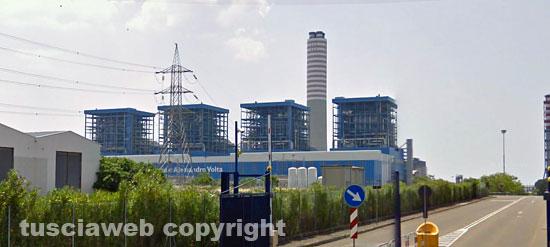 La centrale Enel di Montalto