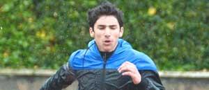 Giuliano Lorenzo nella corsa