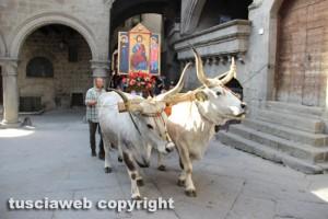 La processione del santissimo Salvatore