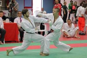 Una gara di Karate