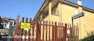 La stazione dei carabinieri di Vejano
