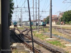 Viterbo - Porta Fiorentina - I treni in stazione