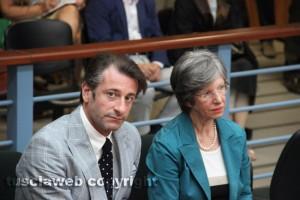 I parenti di Attilio Manca, il fratello Gianluca e la madre Angela