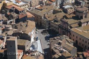 Una veduta di Viterbo dall'alto