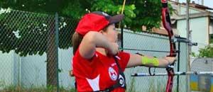L'atleta Rachele
