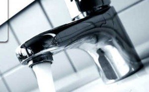 Un rubinetto acqua generica