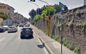 Viterbo - via della Palazzina