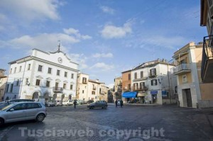 Piazza Garibaldi a Faleria
