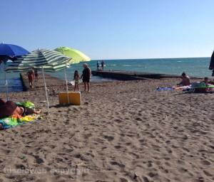 La spiaggia di Pescia Romana