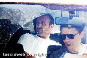 Operazione Red Zoll - Elio Marchetti all'uscita dagli uffici della stradale