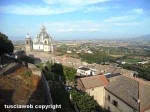 Una panoramica di Montefiascone