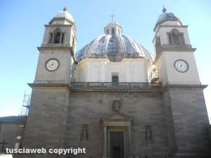 La chiesa di santa Margherita a Montefiascone