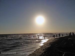La spiaggia di Montalto di Castro