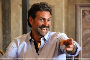 Patrizio Fimiani, presidente del Calcio Tuscia