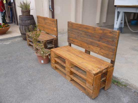 Arredamento con bancali legno stunning riuso dei bancali - Mobili con bancali di legno ...