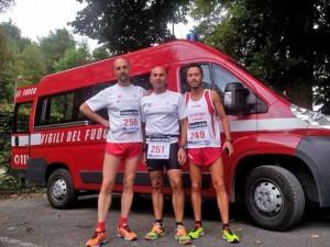 Da sinistra Alessandro Boni, Enrico Riccardi e Marco Mencio