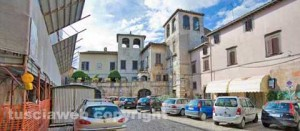 La piazza a Vasanello