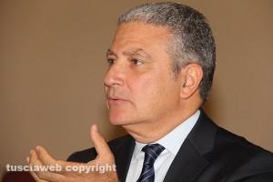 Il presidente della provincia, Marcello Meroi