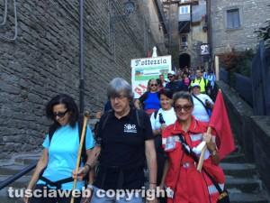 In cammino sulle vie dell'esilio di S. Rosa da Soriano a Vitorchiano