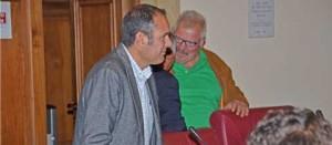 L'esordio di Sergio Caci in consiglio provinciale