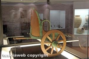 Il Museo nazionale Etrusco alla rocca Albornoz - La biga di Castro