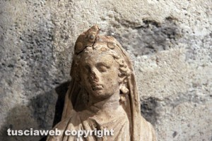 Il Museo nazionale Etrusco alla rocca Albornoz - La dea Demetra