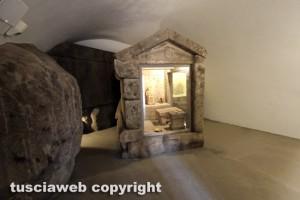 Il Museo nazionale Etrusco alla rocca Albornoz - Il santuario rupestre della dea Demetra